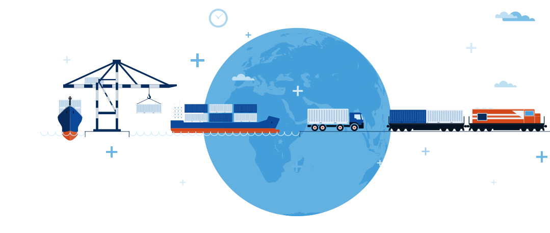 shipping and logistics from Shamrock Shipping and Trading