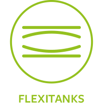Shamrock oil distribution using Flexitanks